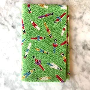 Little Silk Geisha Print Tissue Wallet